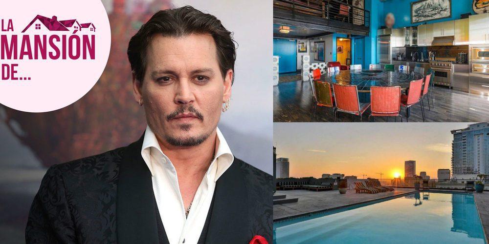 Así es el increíble ático de 1.000 metros cuadrados que tiene Johnny Depp en Los Ángeles