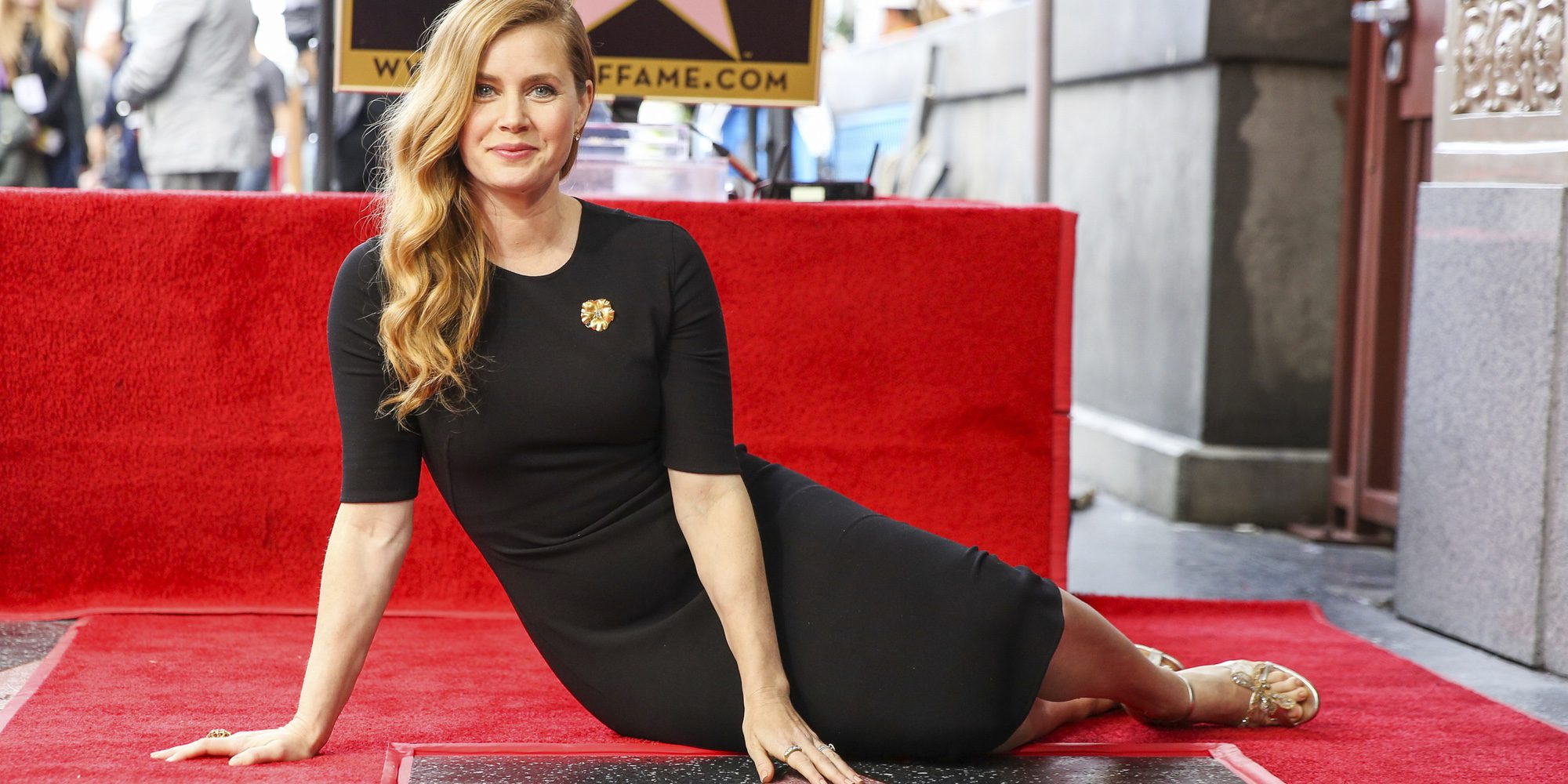 Amy Adams consigue su estrella en el Paseo de la Fama de Hollywood