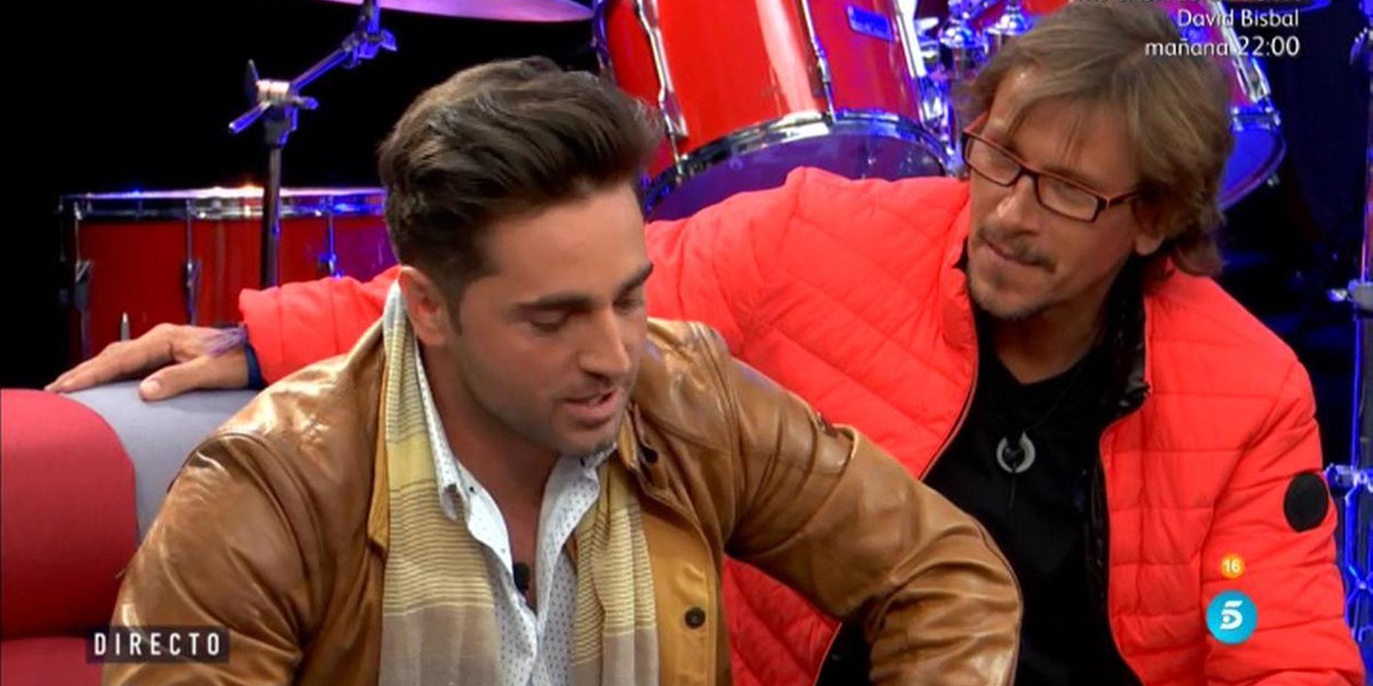 """David Bustamante a Alejandro Abad en 'GH VIP 5': """"Vais a componer una canción, con esta no te vayas a enfadar"""""""