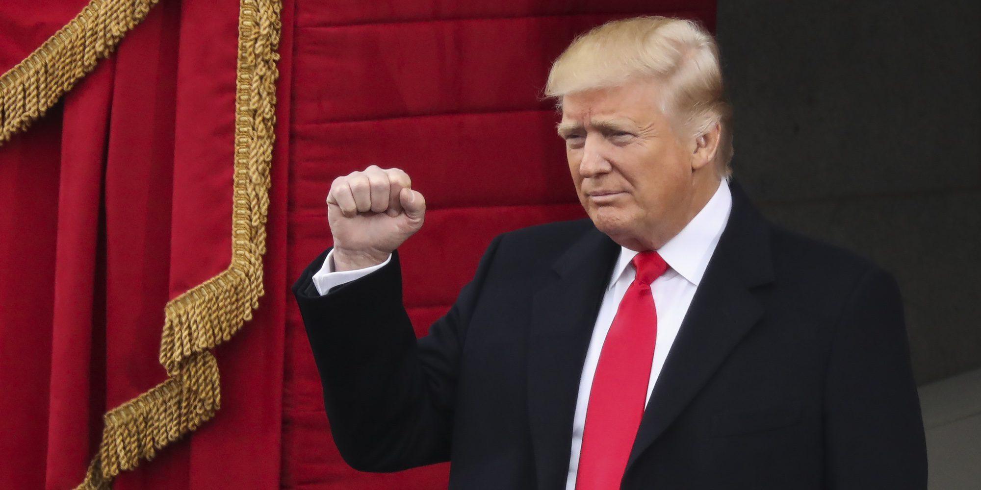 Así fue la toma de posesión de Donald Trump como presidente de Estados Unidos