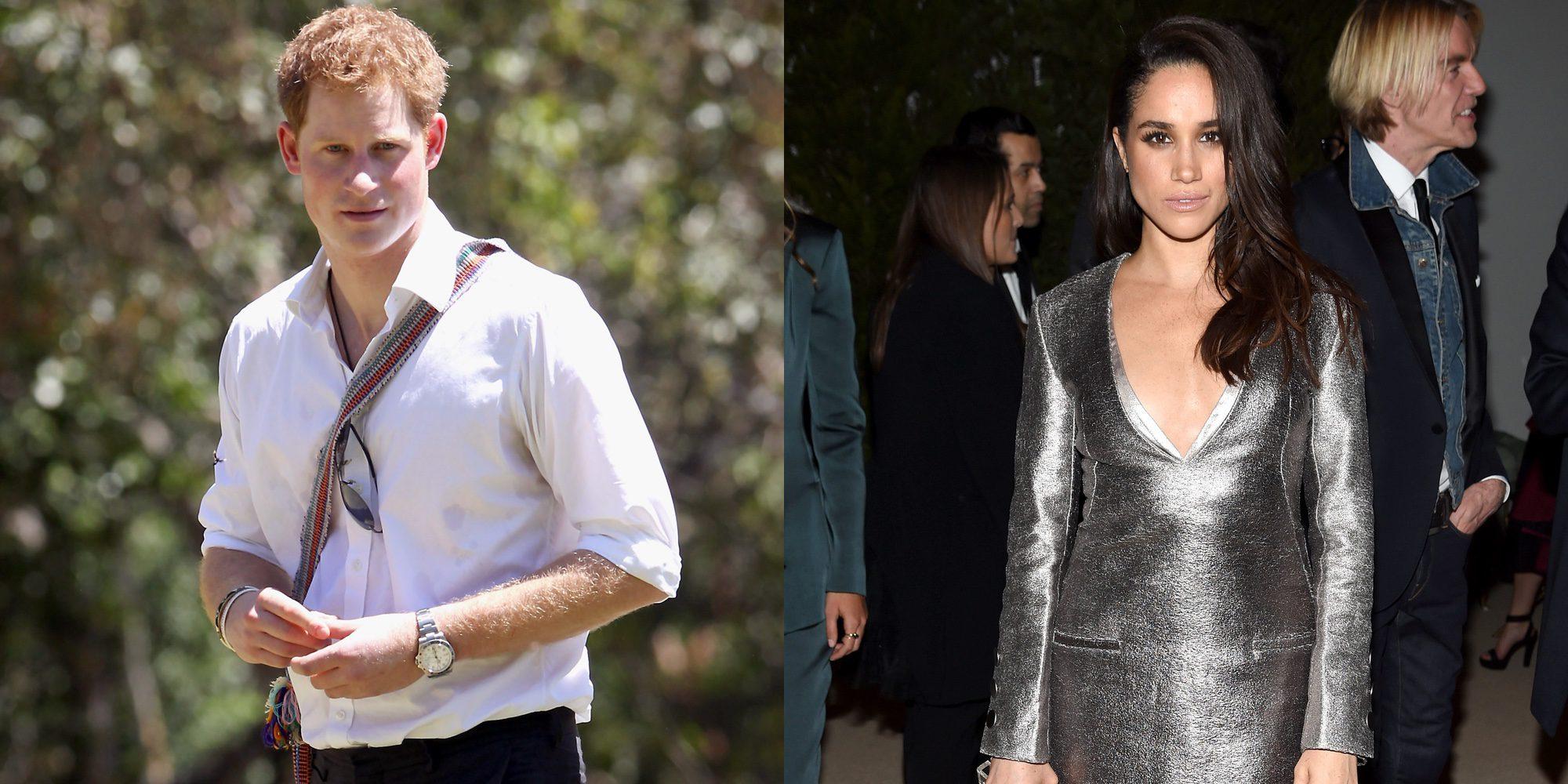 El Príncipe Harry y Meghan Markle, pillados cogidos de la mano tras una cena romántica en Londres