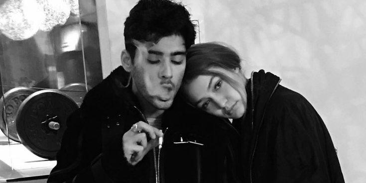 Enamorados: El tierno beso de Zayn Malik y Gigi Hadid en la cama