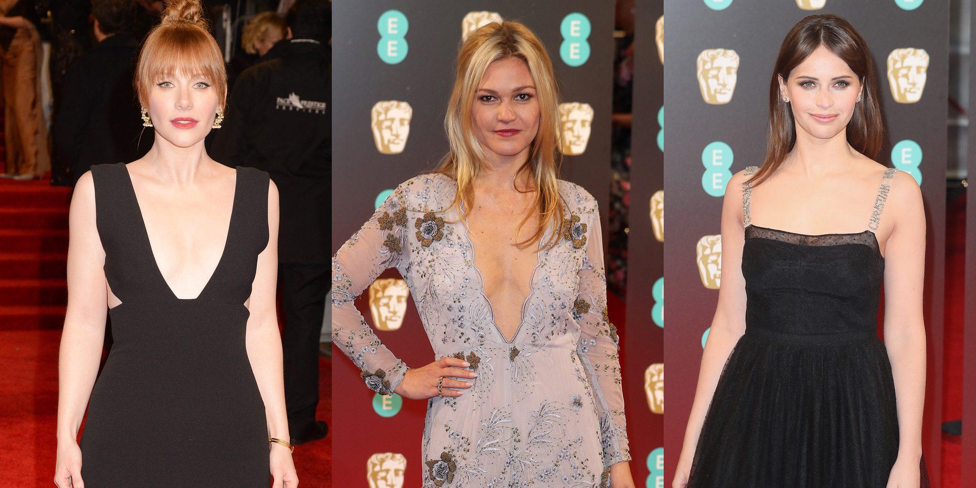 Sophie Turner, Bryce Dallas Howard, Felicity Jones... así fue la alfombra roja de los Bafta 2017