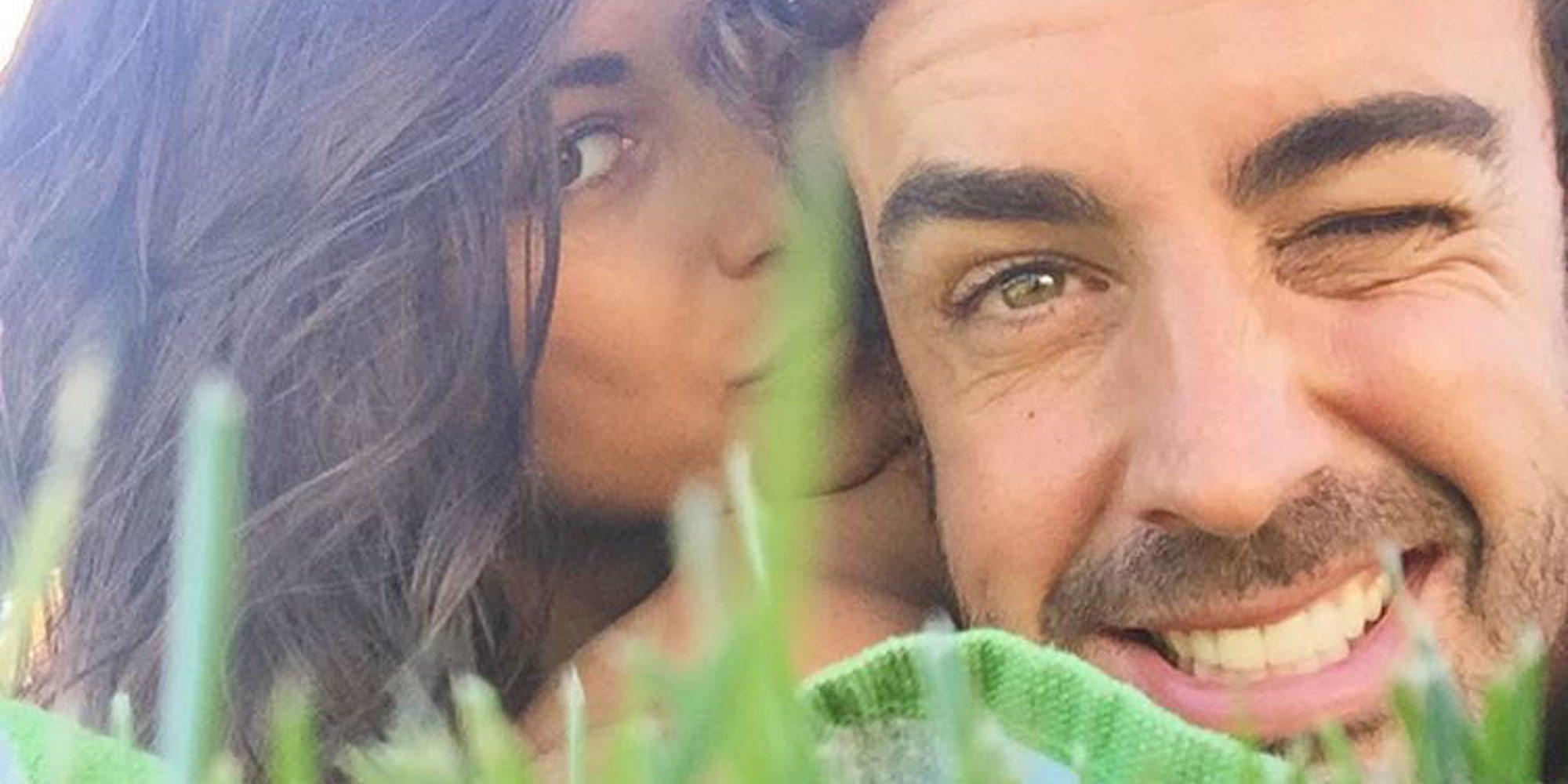 Fernando Alonso y Linda Morselli reivindican que San Valentín es todo los días