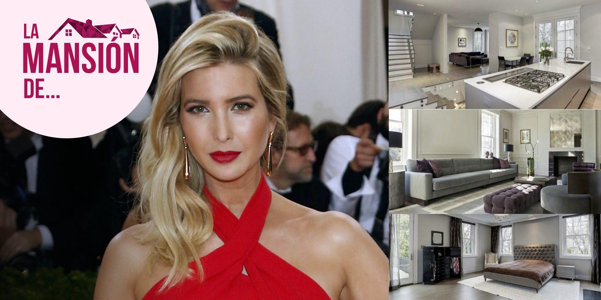 Descubre la nueva y millonaria mansión de Ivanka Trump en Washington