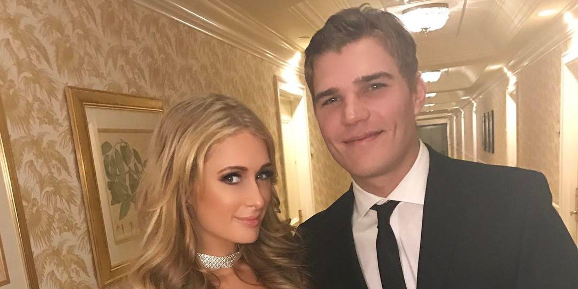 El actor Chris Zylka es el nuevo novio de Paris Hilton