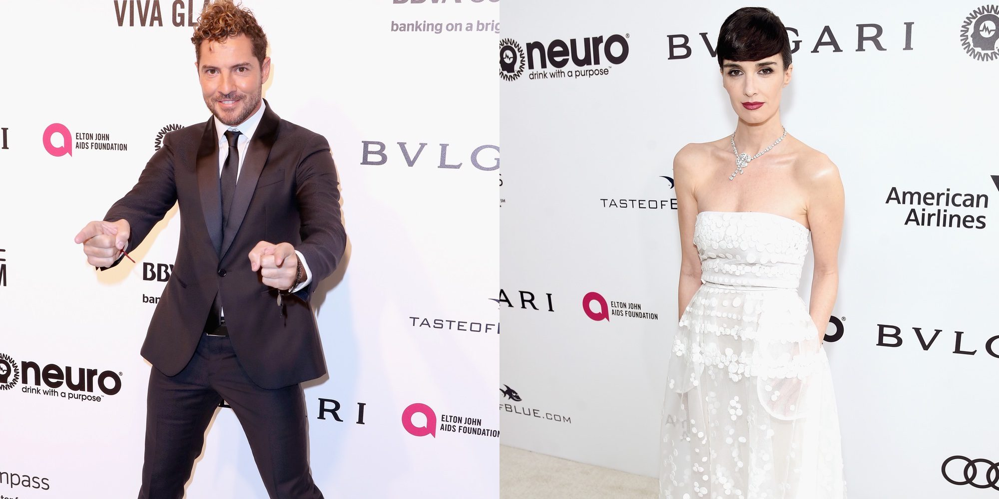 David Bisbal, Jon Kortajarena y Paz Vega: la representación española en las fiestas post-Oscar 2017