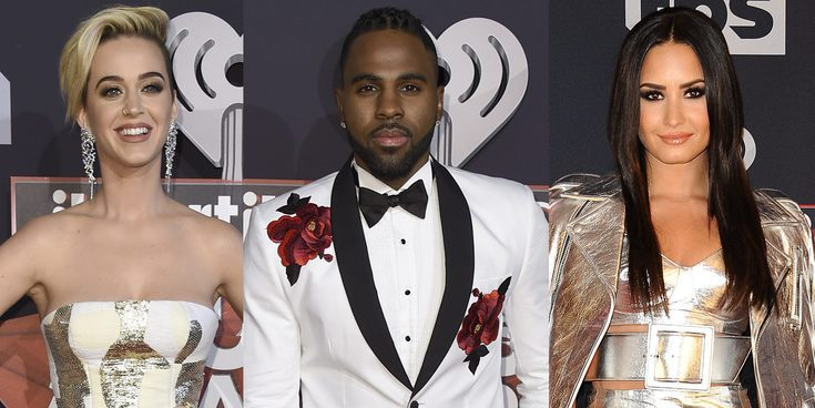 Demi Lovato, Jason Derulo o Katy Perry brillan en los iHeartRadio Music Awards 2017