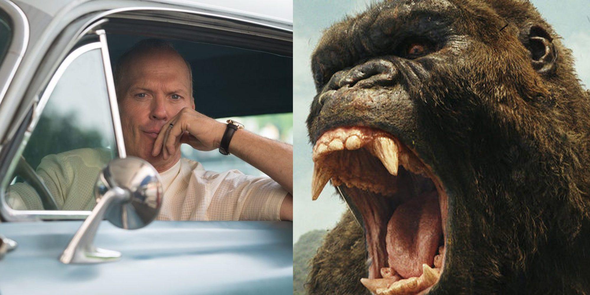 'Kong: La Isla de la Calavera' y 'El Fundador' brillan entre los estrenos de la semana