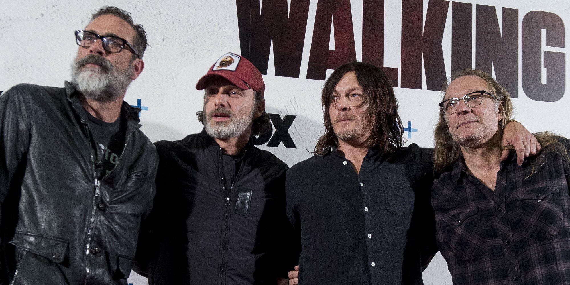 Así desataron la locura los actores de 'The Walking Dead' en el centro de Madrid