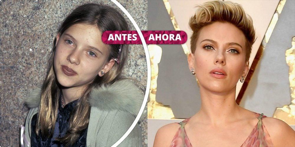 Así ha cambiado Scarlett Johansson: De niña prodigio a actriz adulta y sexy