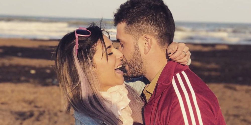 Rodrigo y Bea disfrutan de las Fallas de Valencia, tierra de la ganadora de 'GH17'
