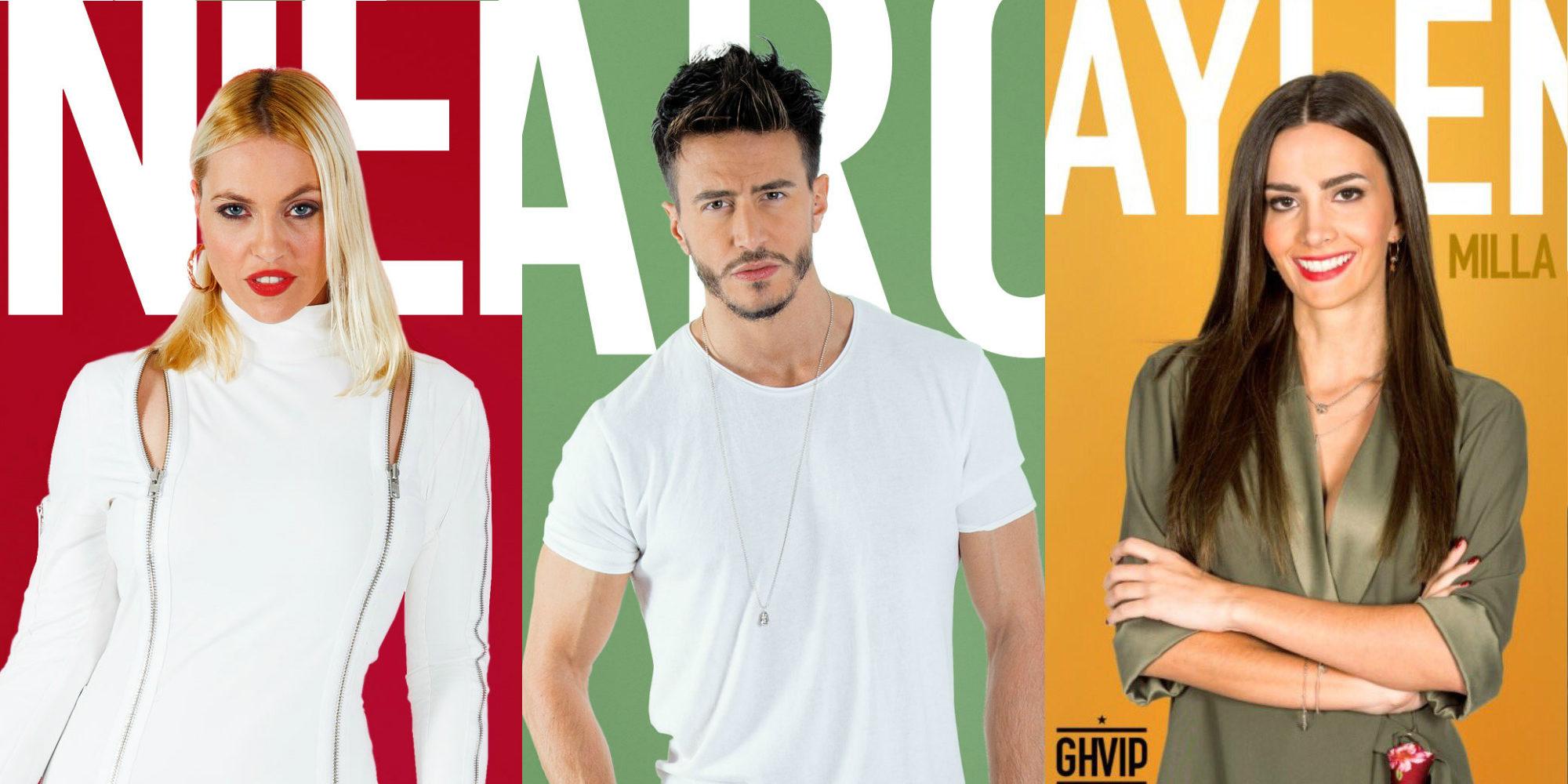 Daniela Blume, Marco Ferri y Aylén Milla son los nuevos nominados de 'GH VIP 5'