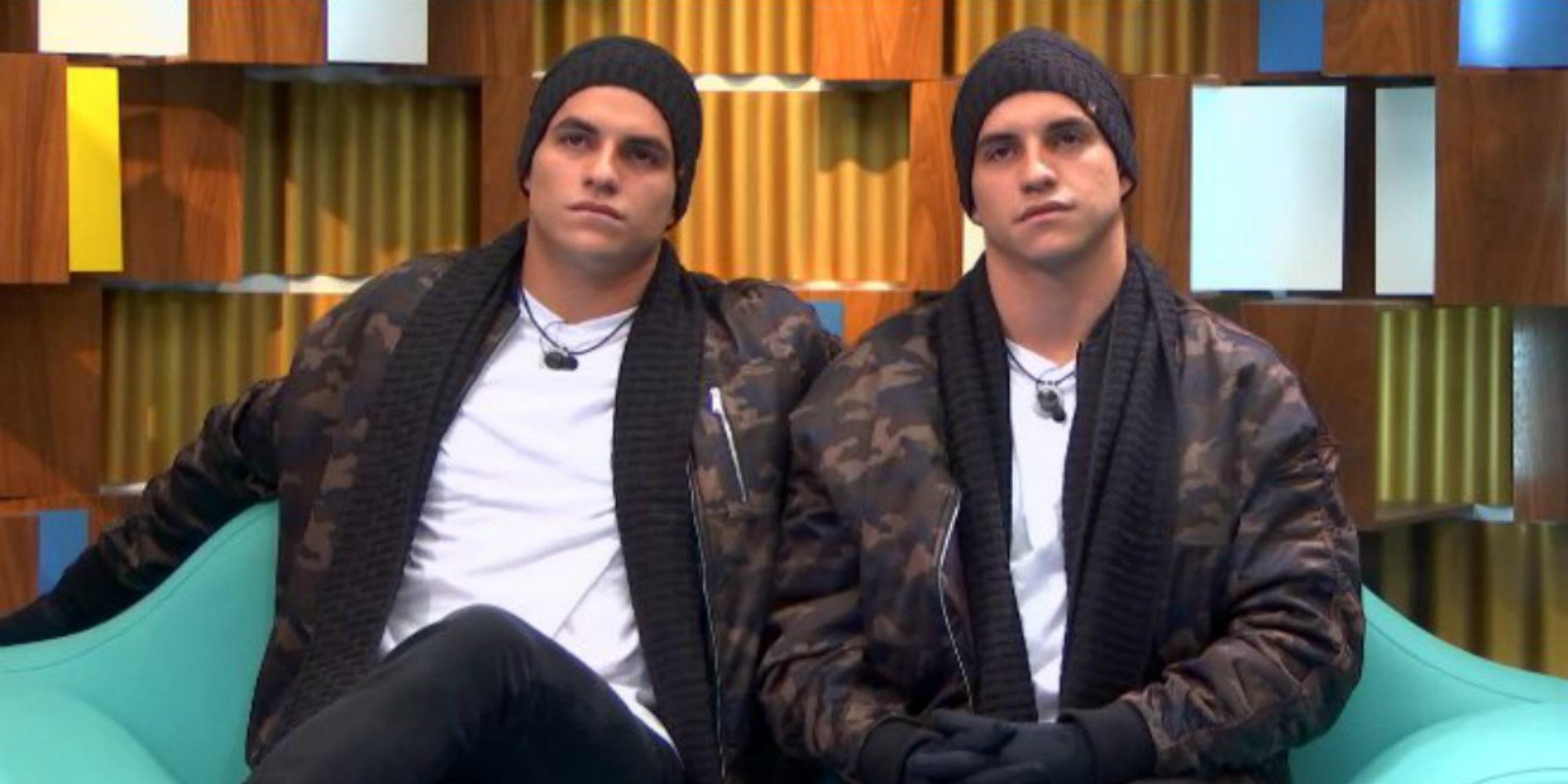 Los gemelos brasileños Antônio y Manoel llegan a 'GH VIP 5' haciéndose pasar por un solo concursante