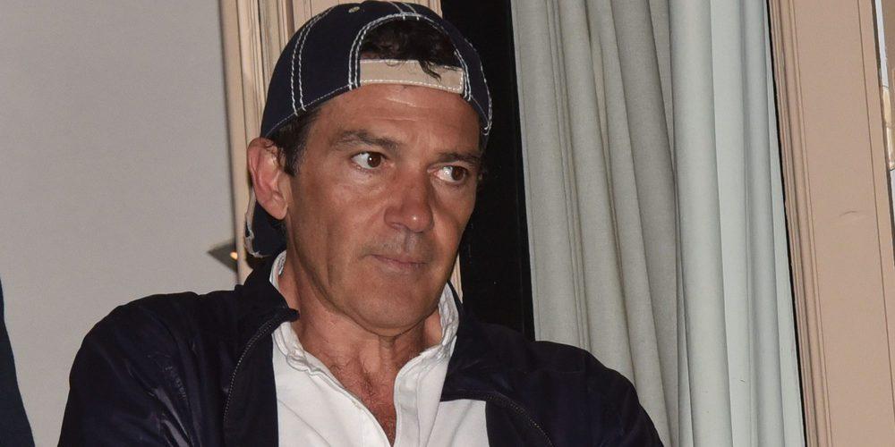 Antonio Banderas, ingresado para hacerse un chequeo por sus problemas cardiacos