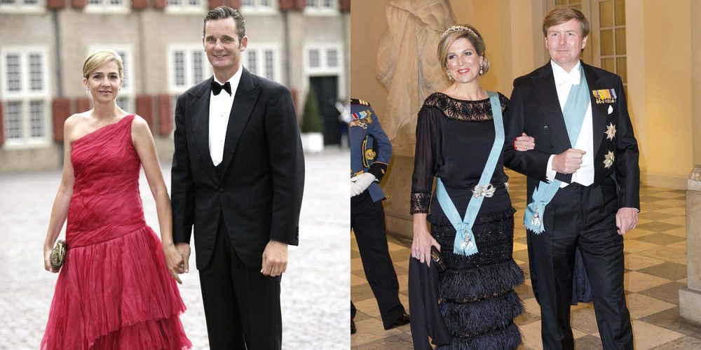 El desplante de la Infanta Cristina e Iñaki Urdangarin a Guillermo Alejandro y Máxima de Holanda