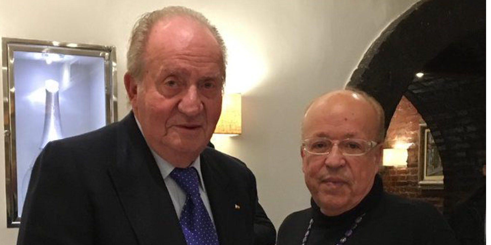 """Rappel habla del Rey Juan Carlos: """"Le respeto mucho y es un señor encantador. Es un gran amigo mío"""""""