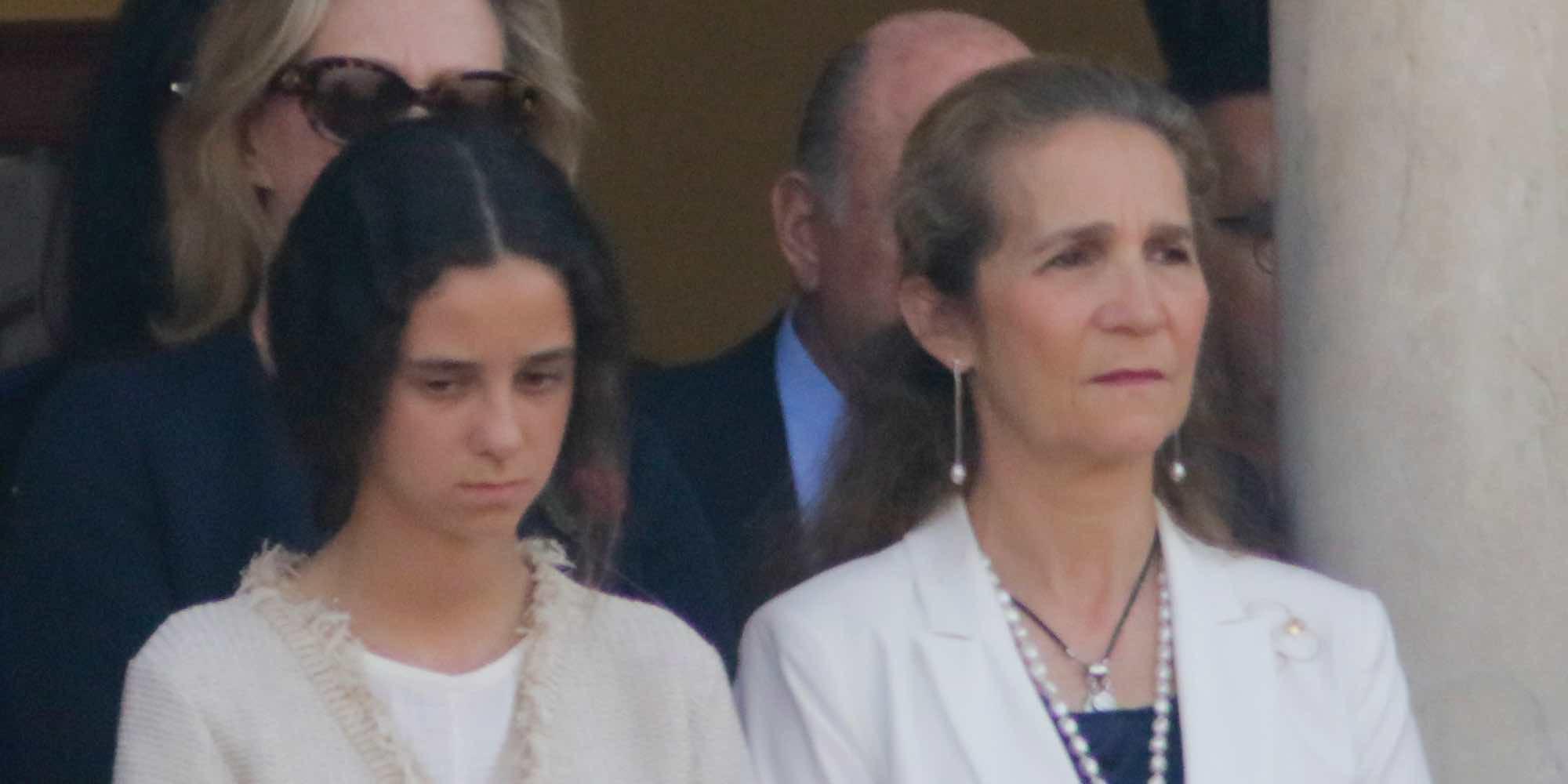 La Infanta Elena cambia Palma por una visita express a la Infanta Cristina antes de irse a los toros a Sevilla