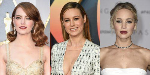 Brie Larson confiesa que su amistad con Emma Stone y Jennifer Lawrence salvó su vida