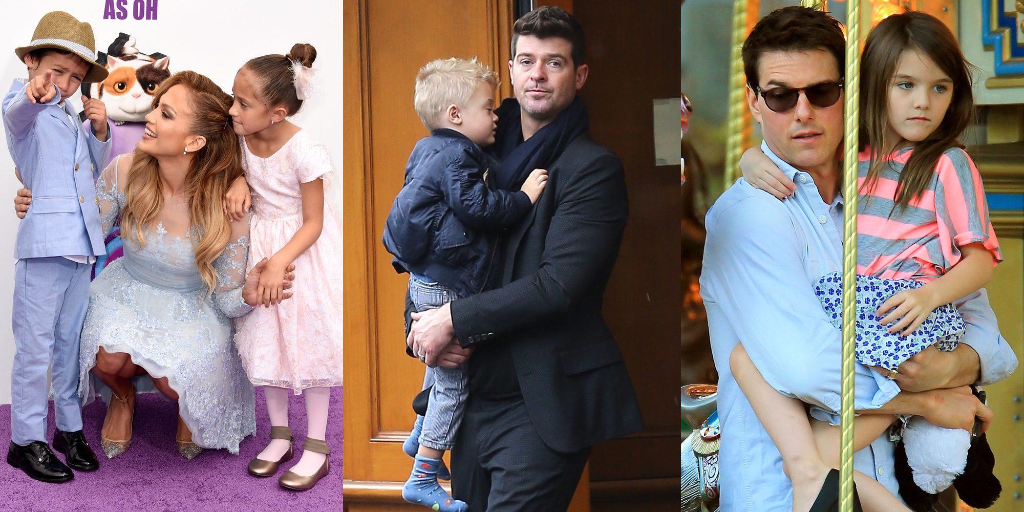 Suri Cruise y otros hijos de famosos extranjeros que sufrieron el divorcio de sus padres