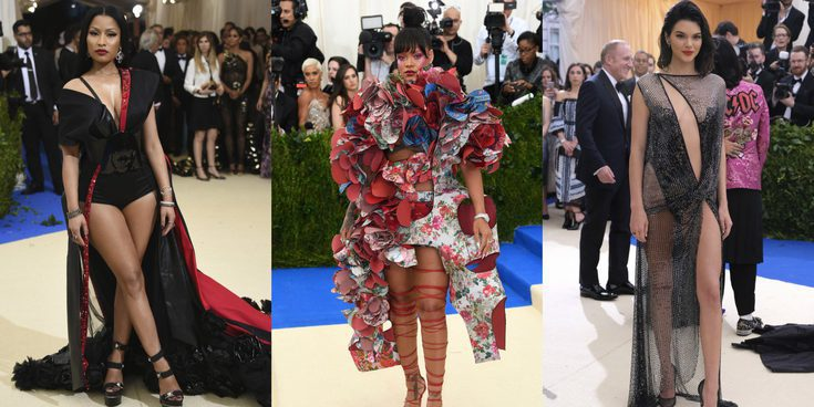 Nicki Minaj, Rihanna o Katy Perry, entre las estrellas que brillaron en la Gala del MET 2017
