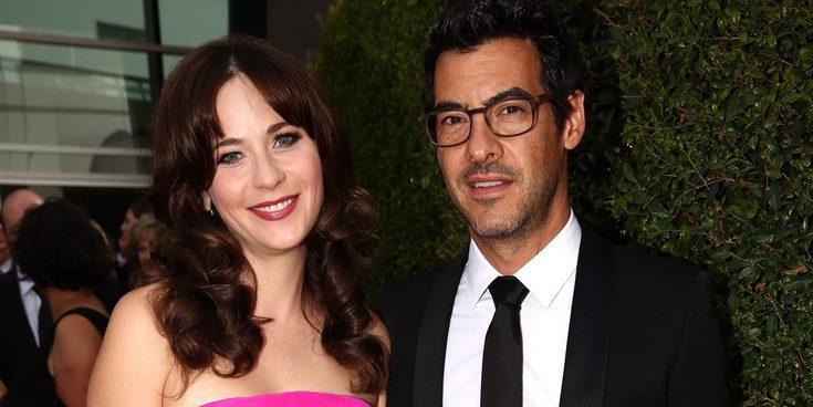 Zooey Deschanel ('New Girl') se convierte en madre por segunda vez junto a su marido Jacob Pechenik