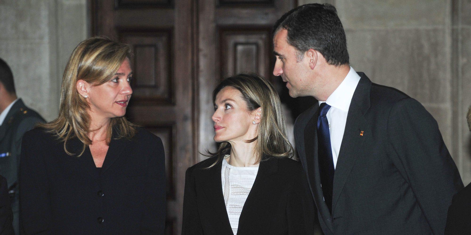 El tenso reencuentro entre la Infanta Cristina y los Reyes Felipe y Letizia que inquieta a la Casa Real