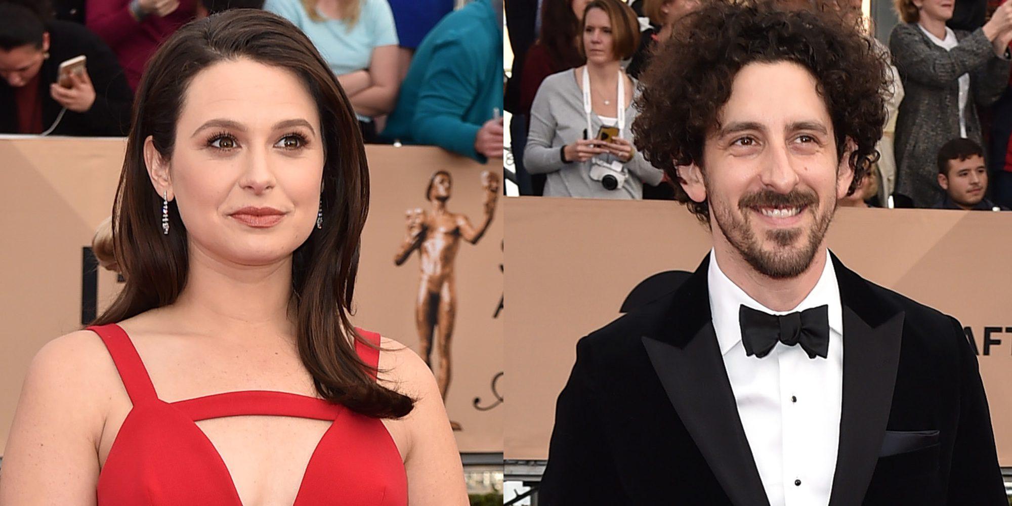 Katie Lowes ('Scandal') anuncia que está embarazada de su primer hijo con su marido Adam Shapiro
