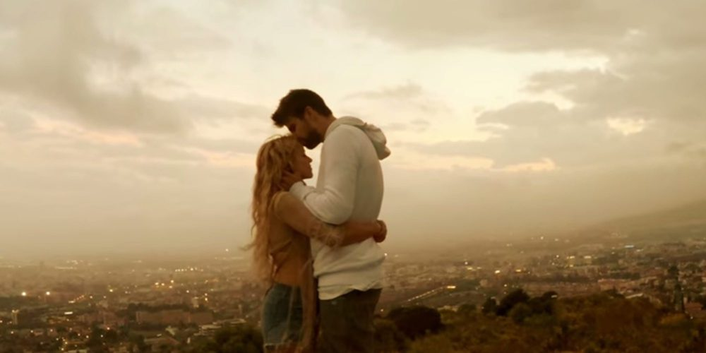 Las imágenes más románticas de Gerard Piqué en el videoclip de 'Me enamoré', el nuevo tema de Shakira
