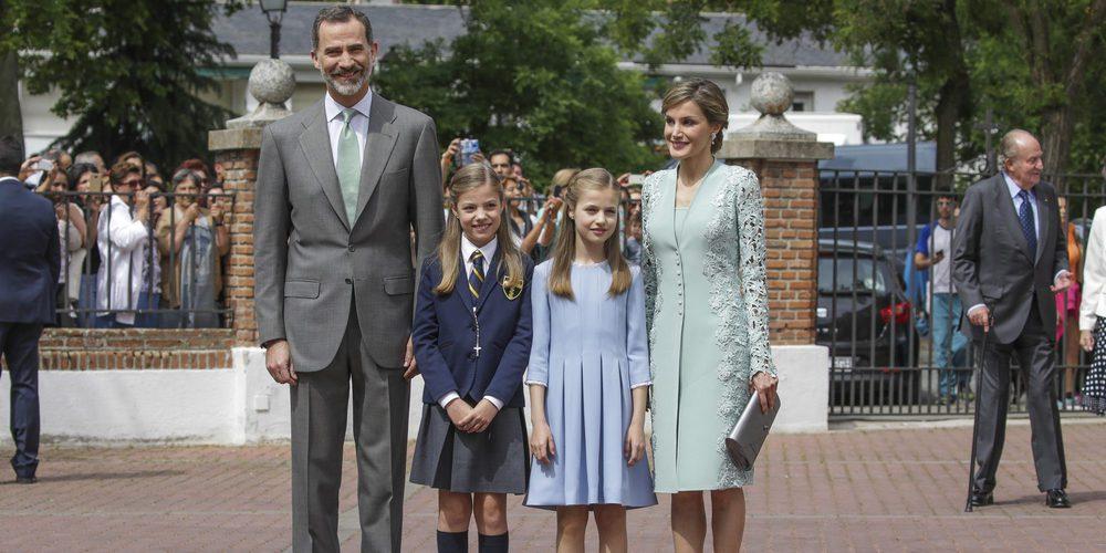 El regalo de los Reyes Felipe y Letizia que emocionó a la Infanta Sofía en su Comunión
