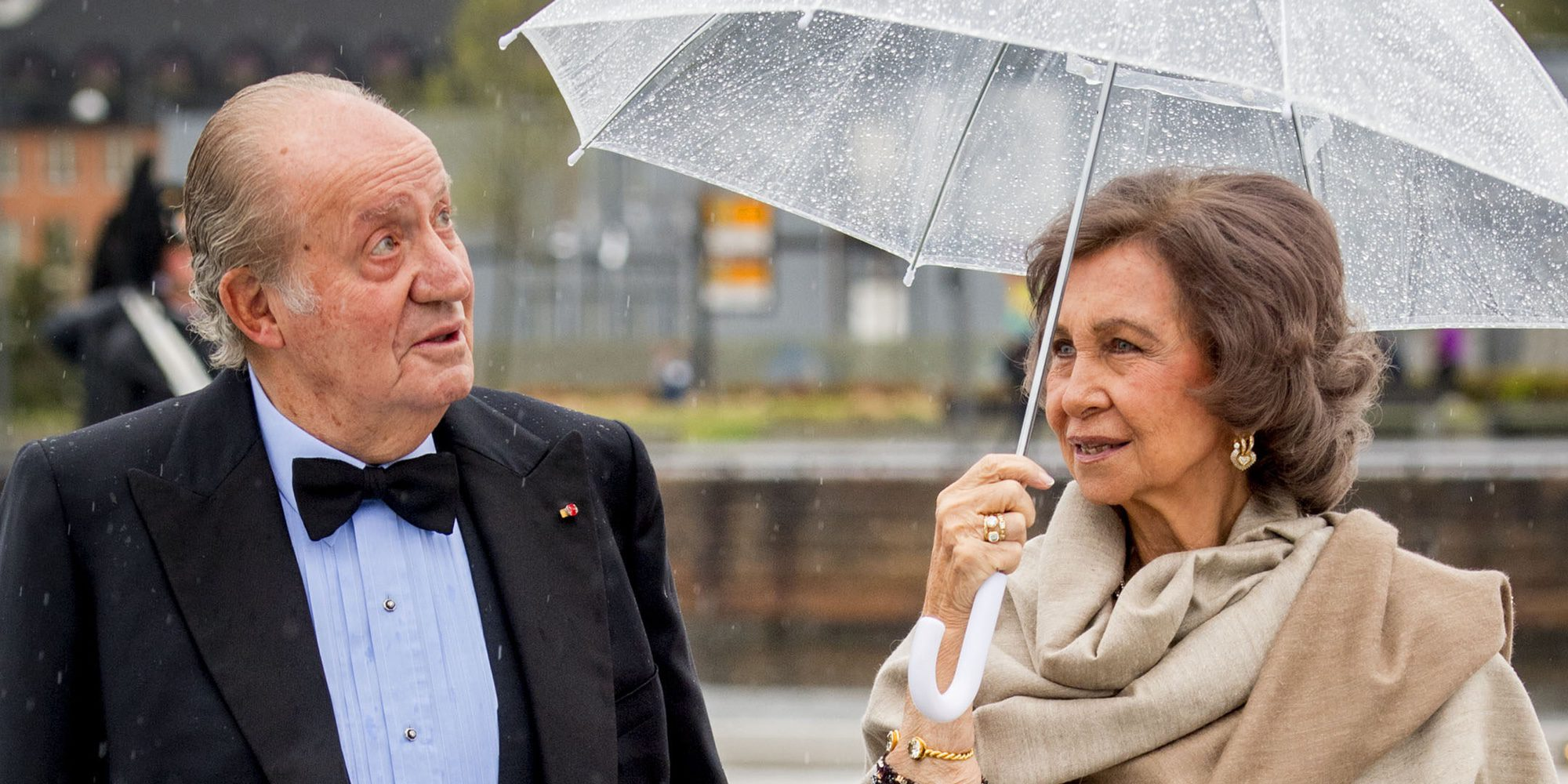 El Rey Juan Carlos y la Reina Sofía se olvidan de celebrar su 55 aniversario de bodas