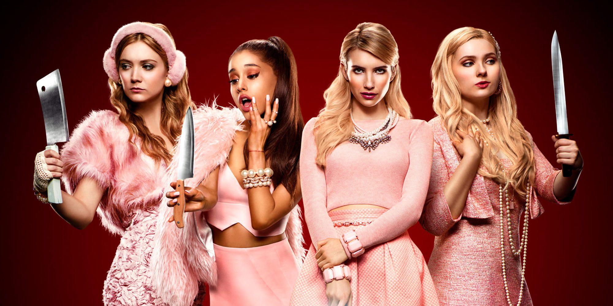 FOX cancela 'Scream Queens' por sus bajos datos de audiencia