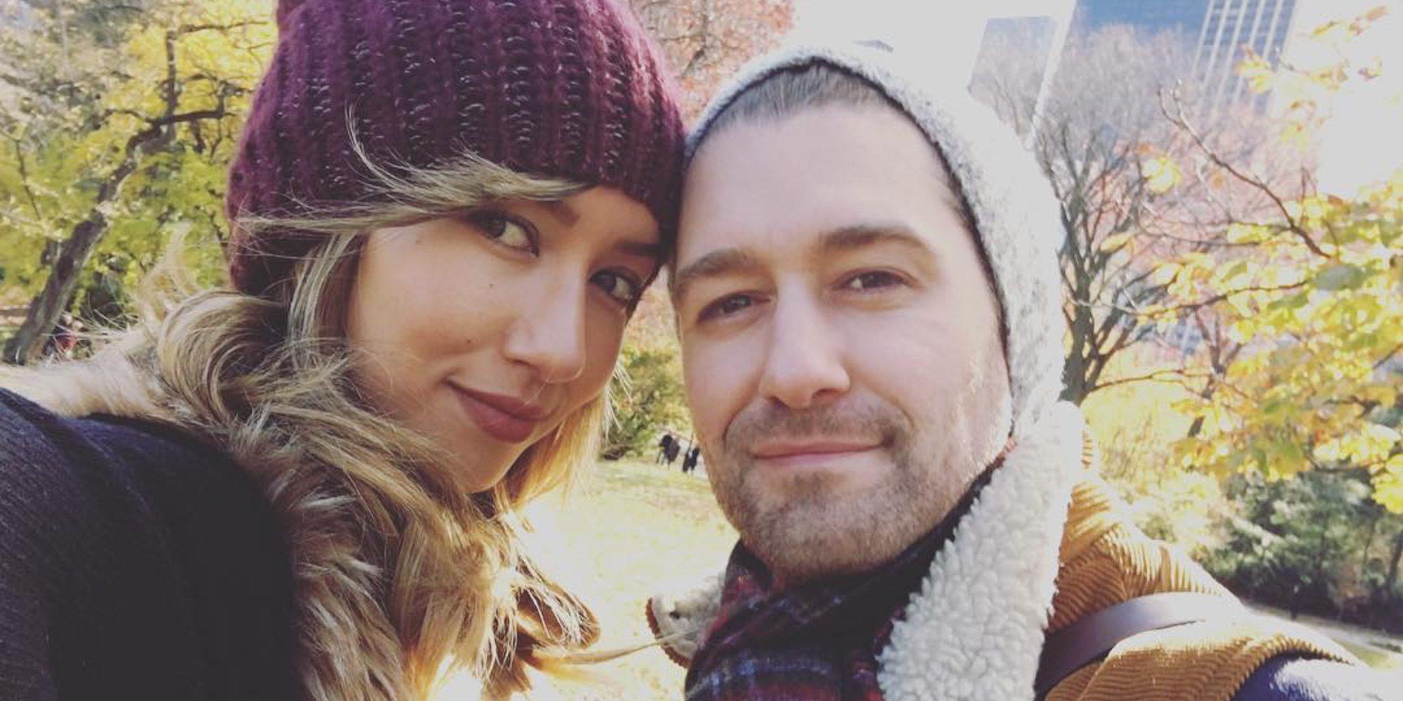 Matthew Morrison y Renee Puente anuncian que están esperando su primer hijo juntos