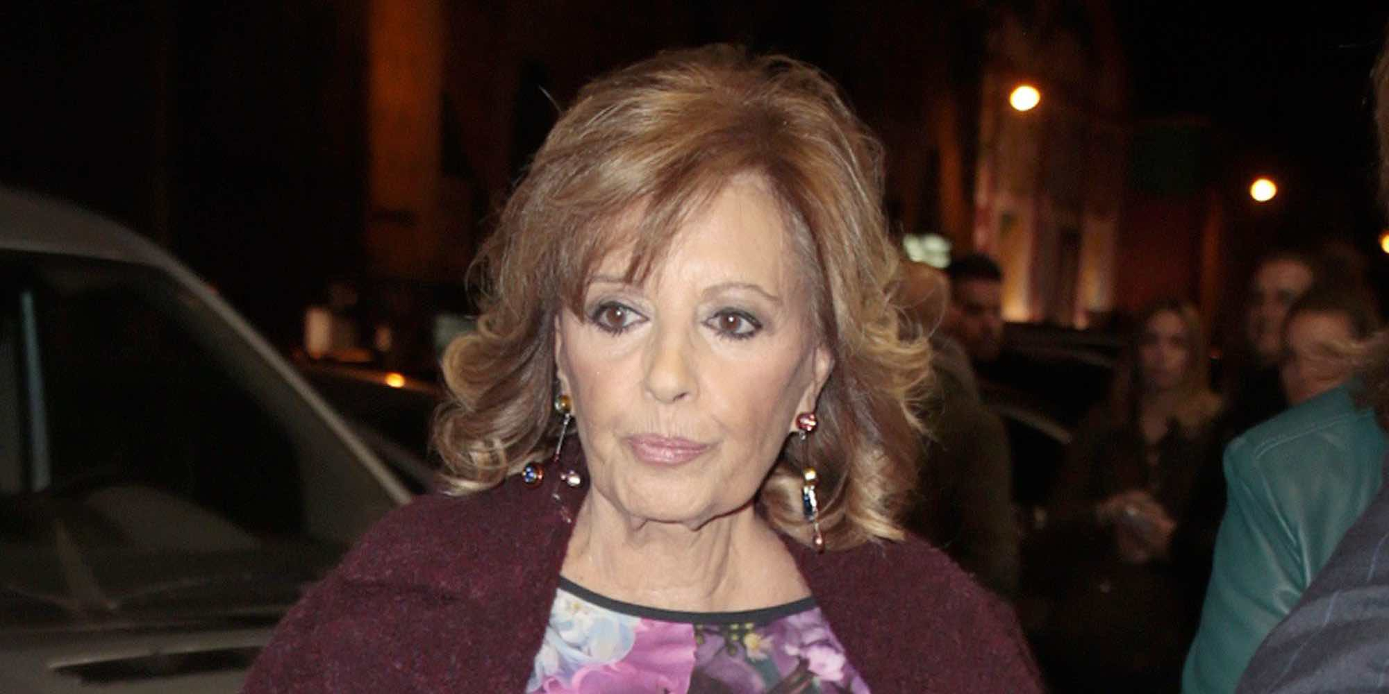 María Teresa Campos dejará la Unidad de Ictus y pasará a planta para seguir con su recuperación