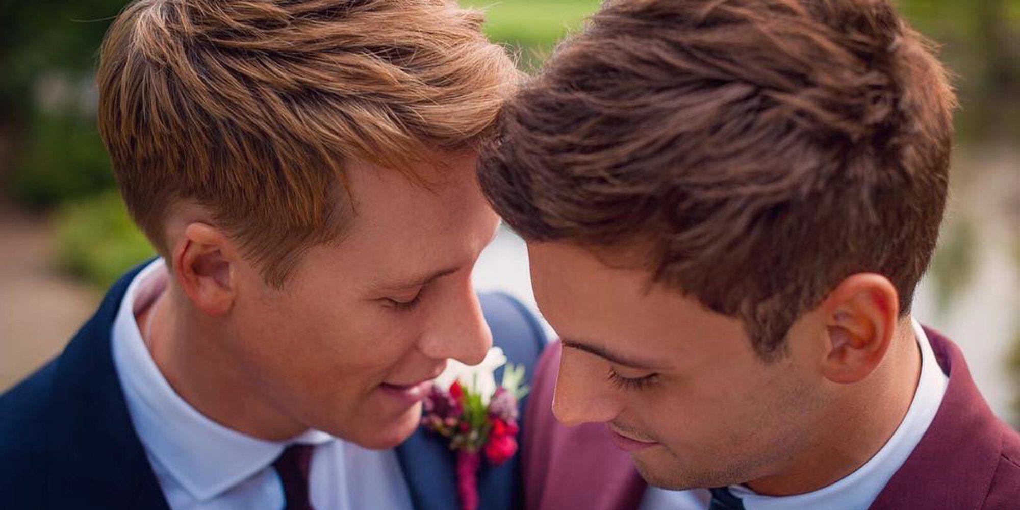 La tierna felicitación de Dustin Lance Black a su marido Tom Daley por su 23 cumpleaños