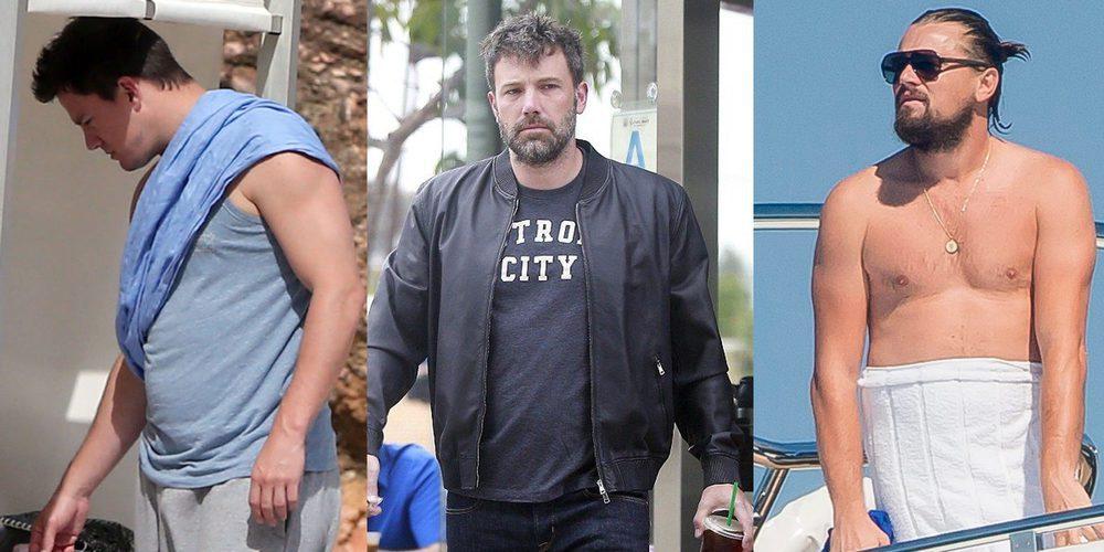 DiCaprio, Ben Affleck, Vin Diesel, Channing Tatum... de buenorros a fofisanos