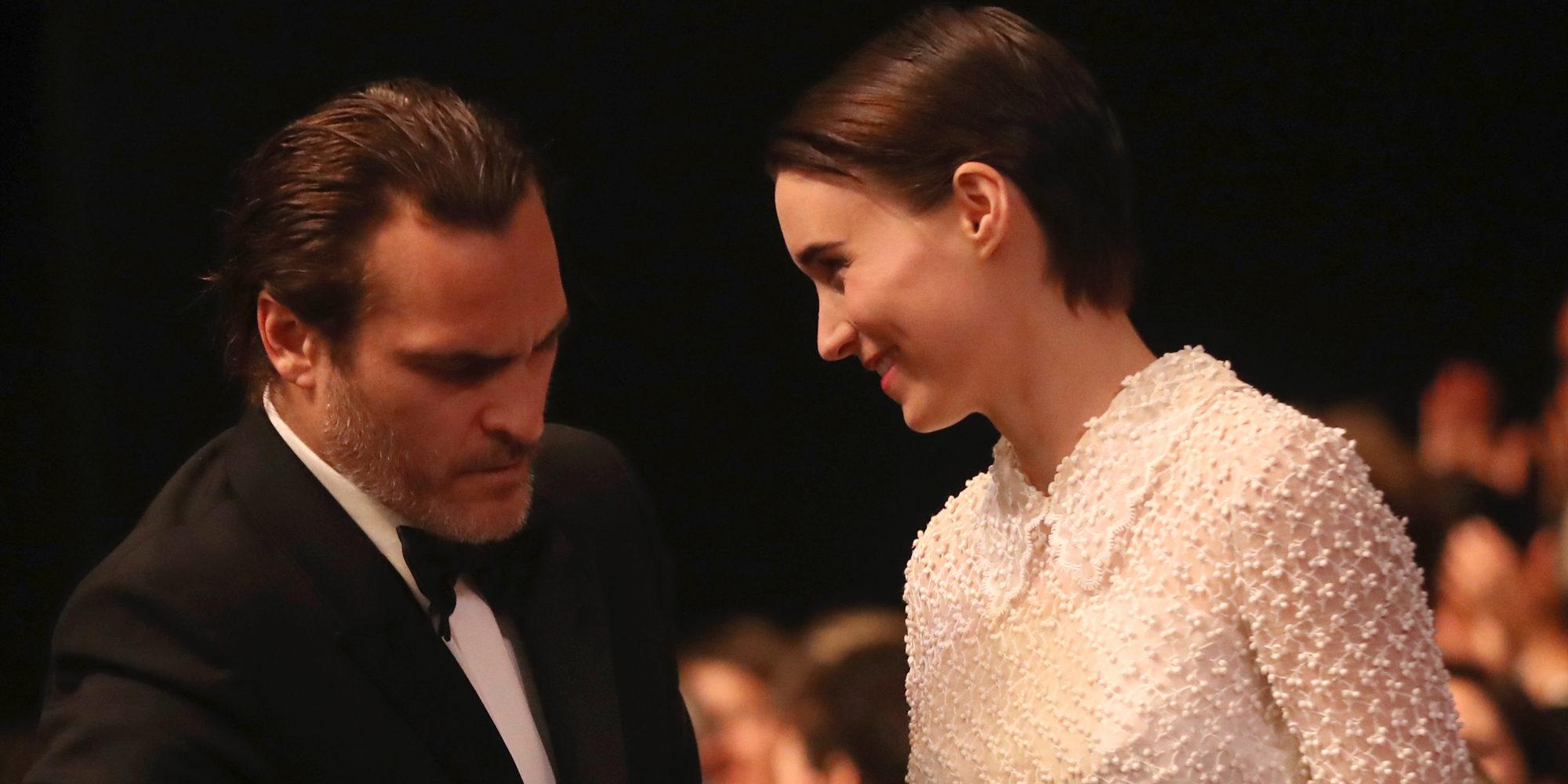 Confirmada la relación entre Joaquin Phoenix y Rooney Mara