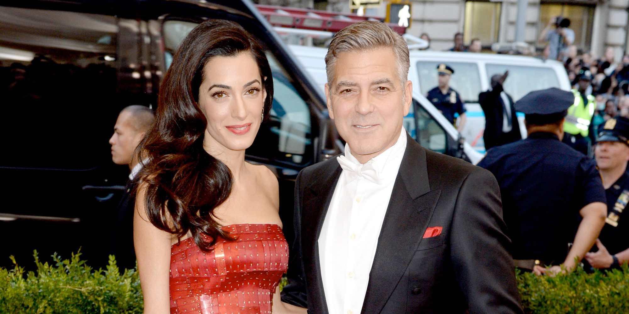 George Clooney y Amal Alamuddin han sido padres de mellizos