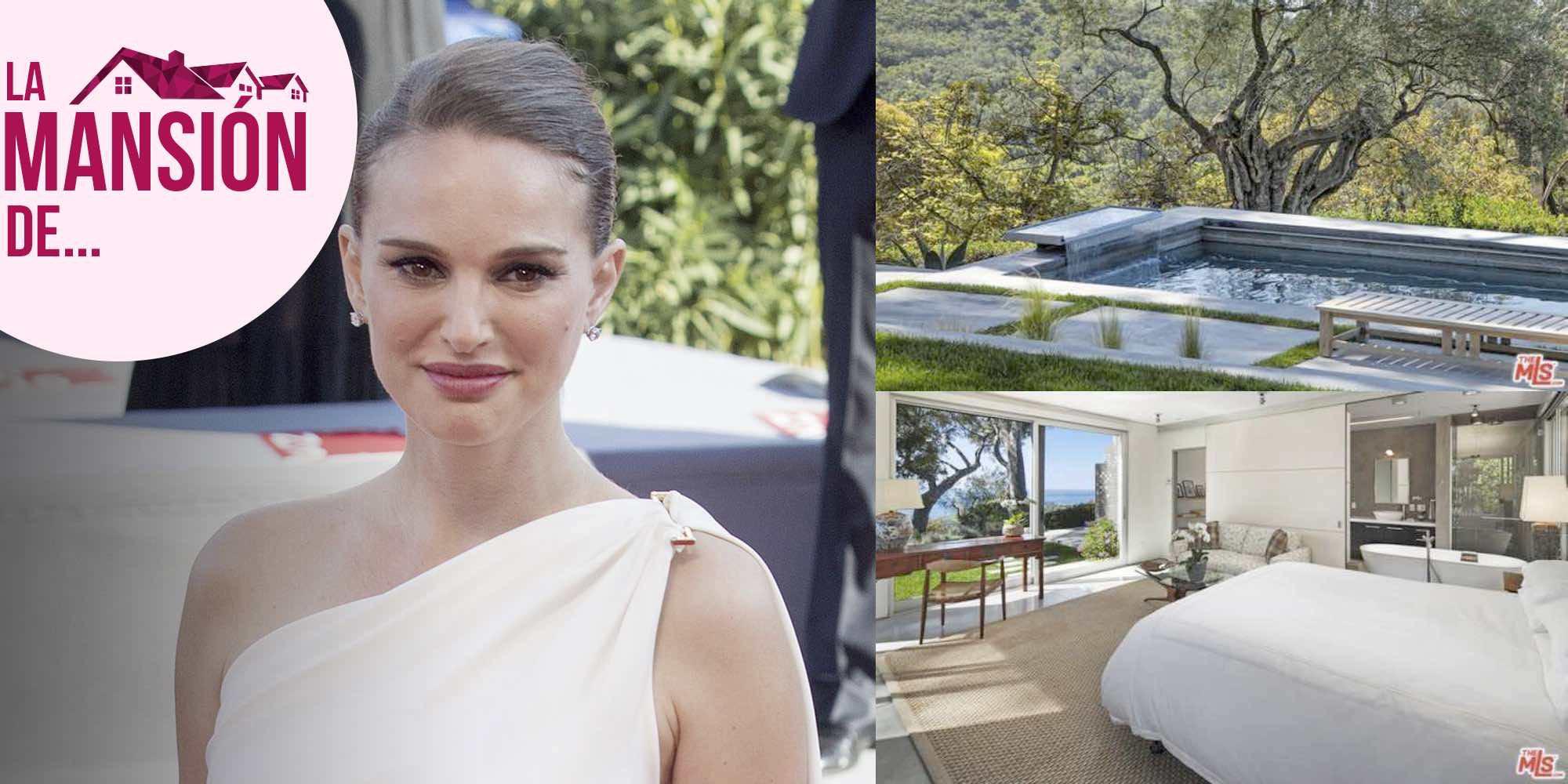 Así es la millonaria mansión californiana de Natalie Portman