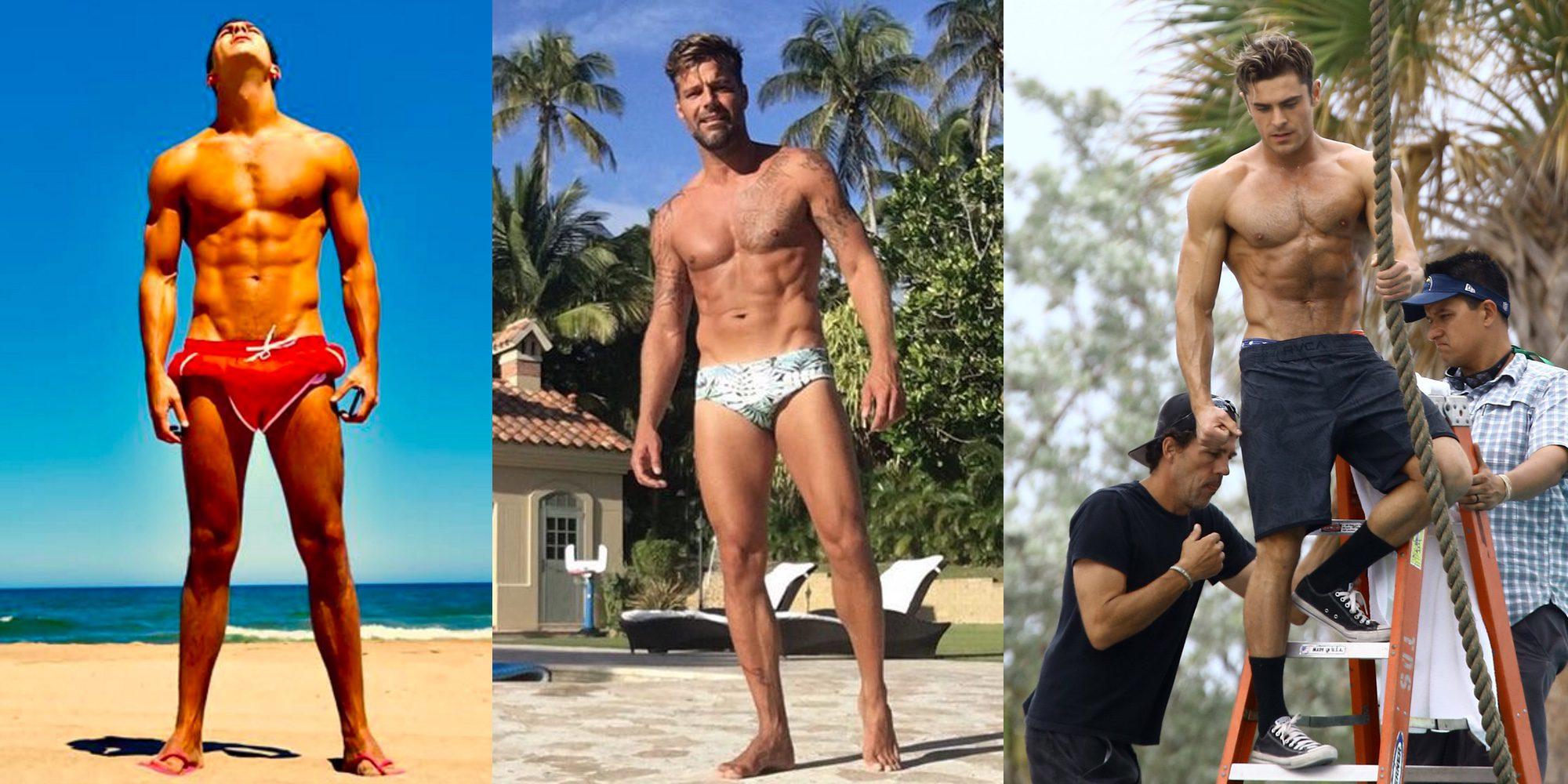Mario Casas, Ricky Martin, Zac Efron y otros famosos a los que queremos ver este verano luciendo cuerpazo
