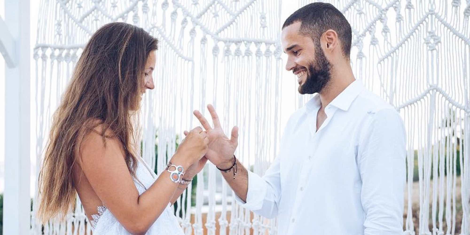 """Malena Costa cuenta cómo fue su 'sí quiero' a Mario Suárez: """"Pensé que iba a una fiesta... y era mi boda"""""""