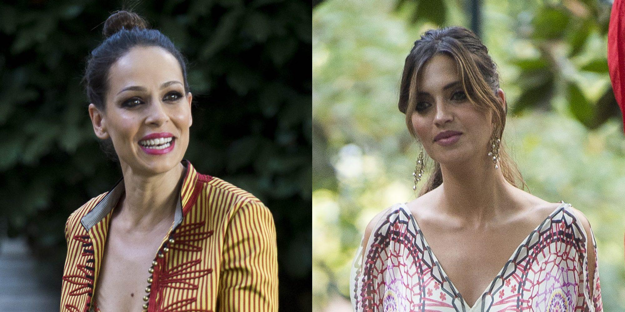 El buen rollo entre Eva González y Sara Carbonero, exnovia y mujer de Iker Casillas, en los Premios Elle