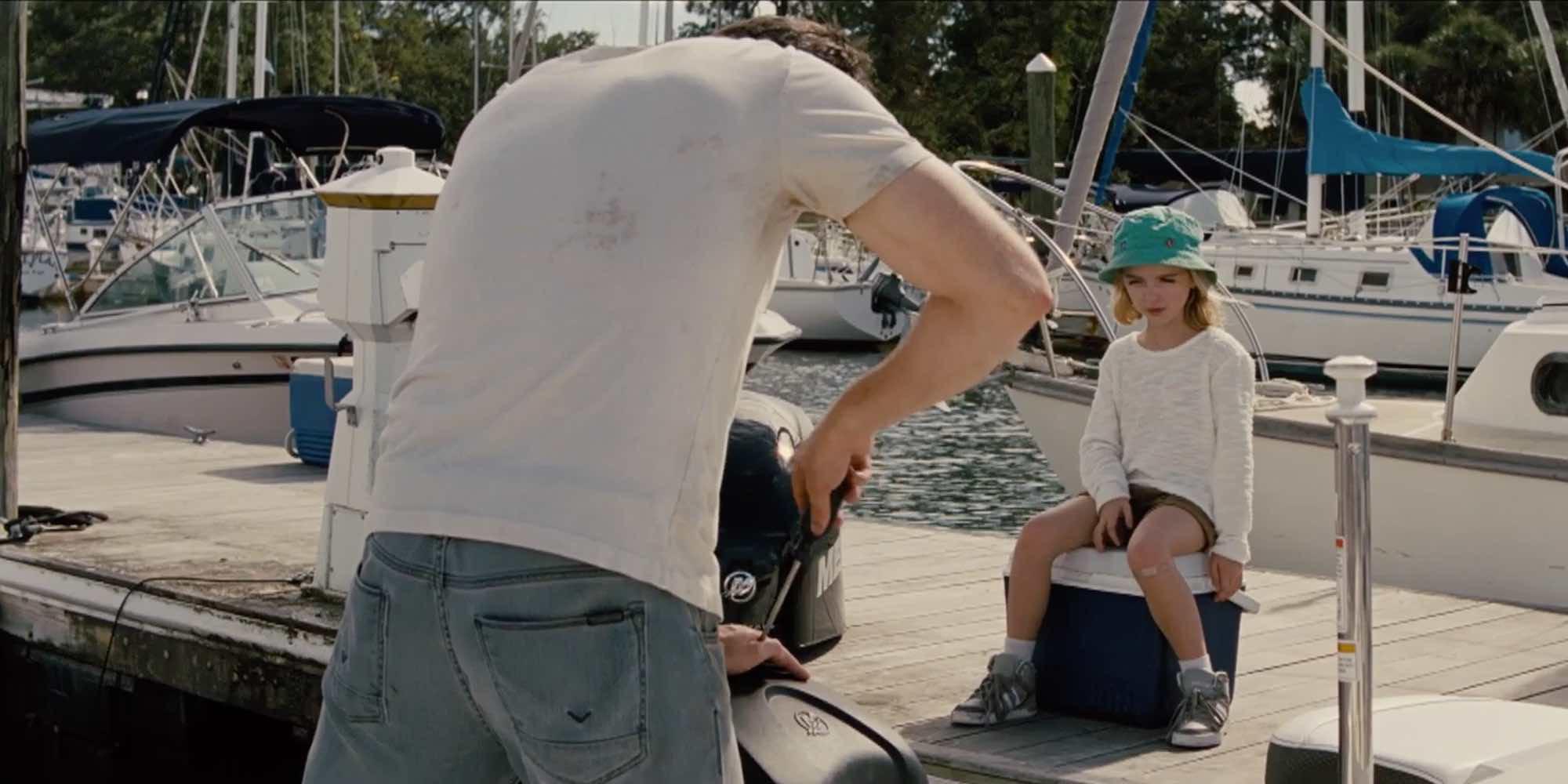 El carácter de Mckenna Grace pone en aprietos a Chris Evans en esta escena de 'Un don excepcional'