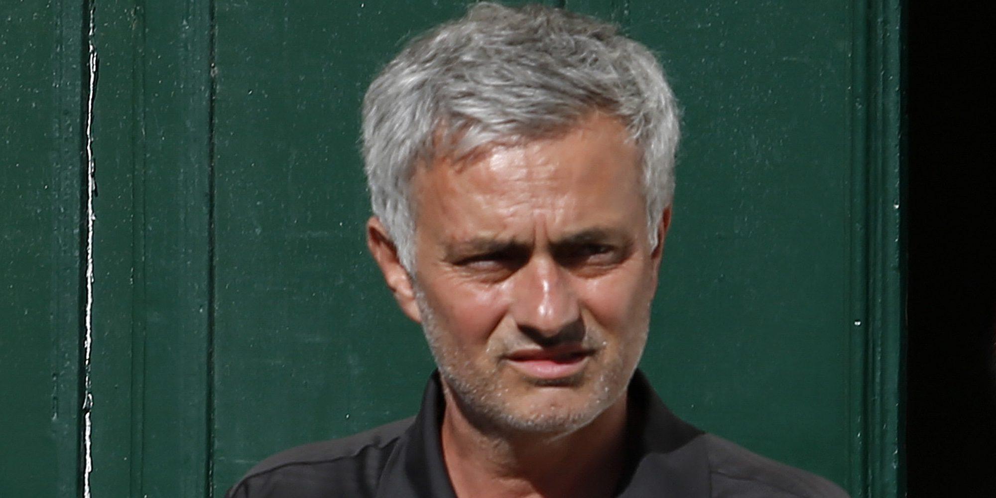José Mourinho, desolado tras la muerte de su padre