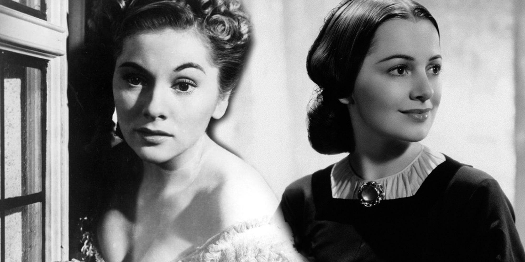 Olivia de Havilland y Joan Fontaine, dos hermanas de cine peleadas hasta la muerte
