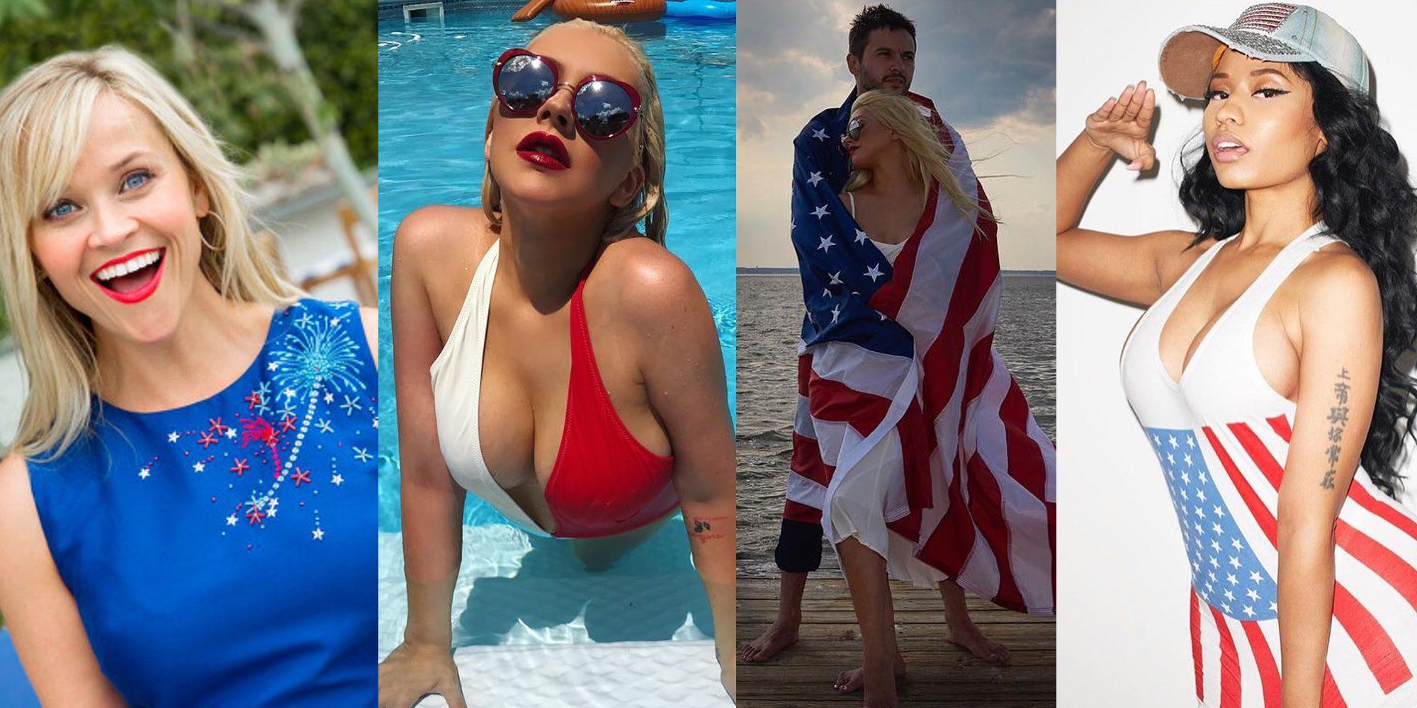 La familia Affleck, Sofía Vergara, Nicki Minaj... Los famosos celebran el 4 de julio, día de la Independencia