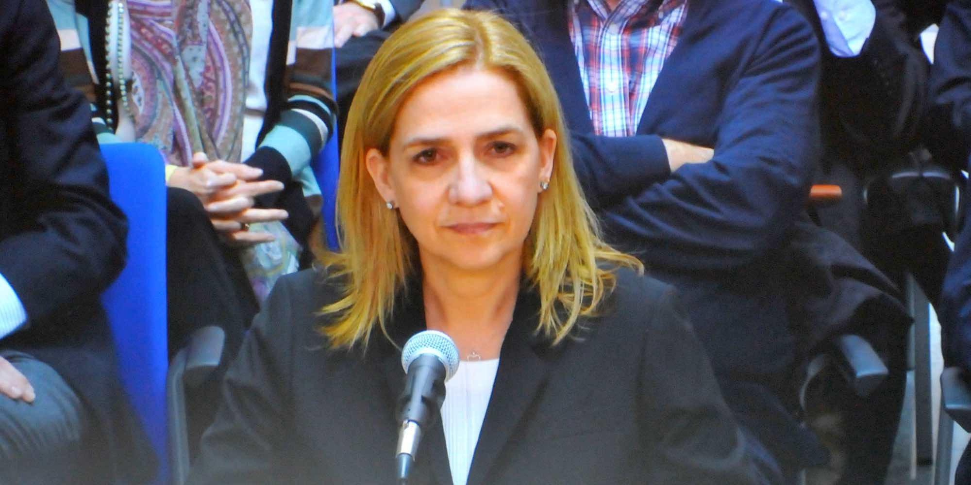 La Infanta Cristina prepara el escrito para pedir los 322.000 euros de fianza que le corresponden