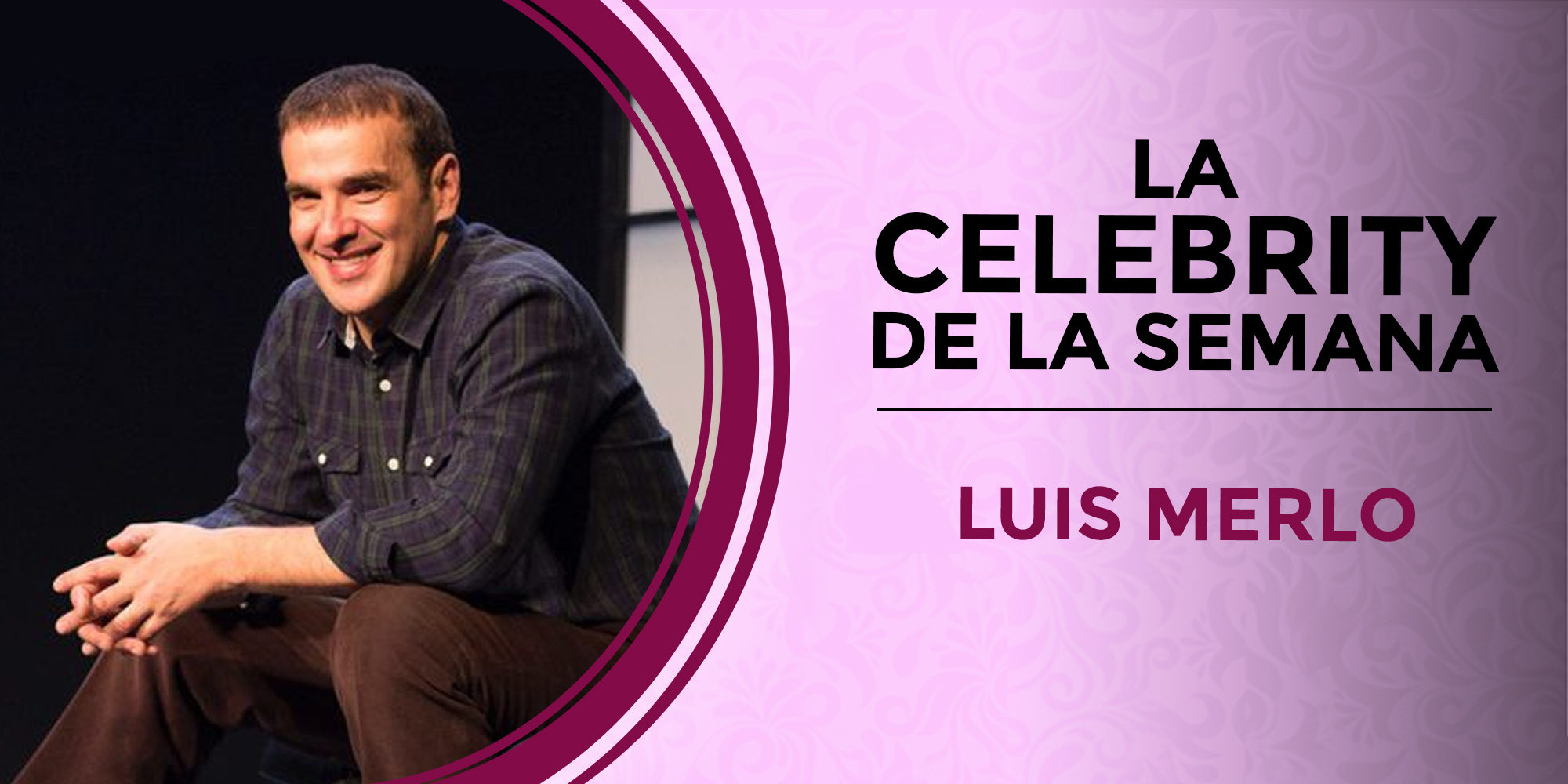 Luis Merlo se convierte en la celebrity de la semana por su ingreso hospitalario y su rápida recuperación