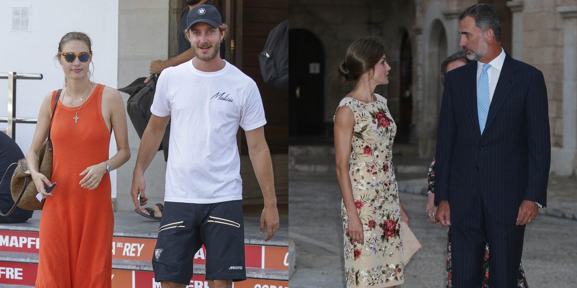Pierre Casiraghi y Beatrice Borromeo destronan a Felipe y Letizia como reyes de Mallorca este verano 2017