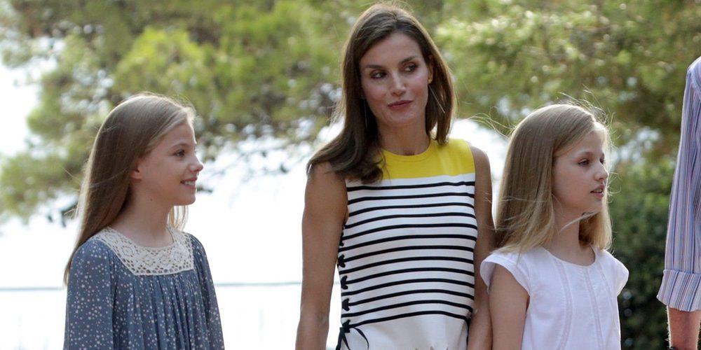 El desplante de la Reina Letizia a la prensa para sobreproteger a sus hijas Leonor y Sofía en Mallorca